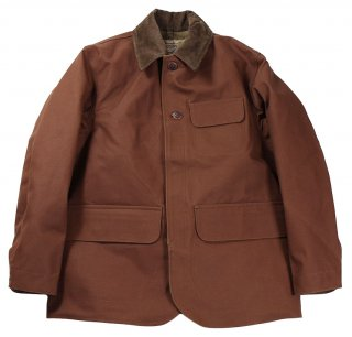 TROPHY CLOTHING [-Oiled Duck Hunting JKT- Brown size.36,38,40,42]