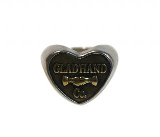 GLAD HAND & Co. [-BUTTON RING- HEART SMALL size.11号,13号,15号]
