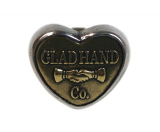 GLAD HAND & Co. [-BUTTON RING- HEART LARGE size.11号,13号,15号]