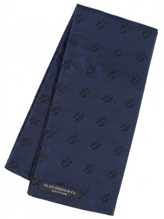GLAD HAND & Co. [-FAMILY CREST STOLE- SHORT NAVY]
