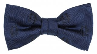 GLAD HAND & Co. [-FAMILY CREST BOW TIE- NAVY]