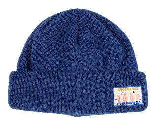 WEIRDO [-SPICE OF LIFE - KNIT CAP- BLUE]