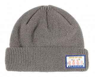 WEIRDO [-SPICE OF LIFE - KNIT CAP- GRAY]