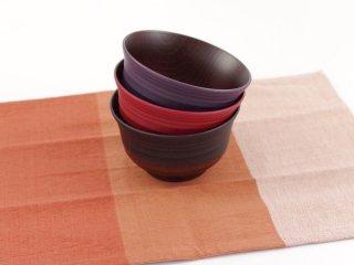 日本の伝統食で食卓を彩るお椀 日本伝統色丼椀