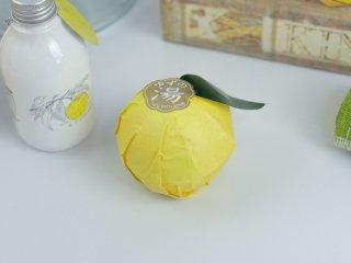 柚子のバスボム