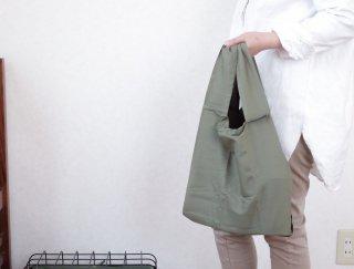 レジ袋と同じサイズのエコバッグ  / クルリトデイリーバッグ
