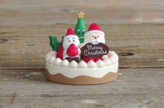 concombre クリスマスマスコット むしゃむしゃサンタケーキ