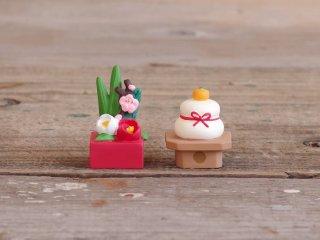 concombre FUKUMONOマスコット お正月ミニ飾りセット