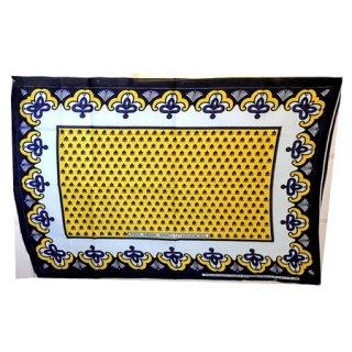 輸入商品 カンガ布 タンザニア アフリカ イエロー09