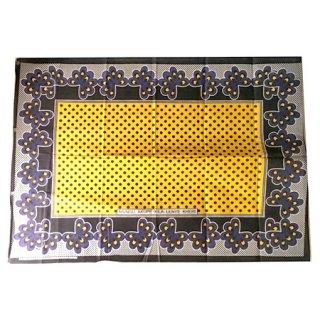 輸入商品 カンガ布 タンザニア アフリカ イエロー13