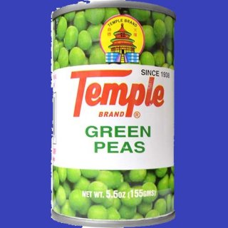 TEMPLE GREEN PEAS 170g