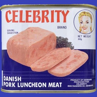 CELEBRITY PORK LUNCHEON MEAT 300g