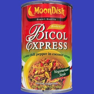 MOONDISH BICOL EXPRESS VEGETARIAN 155g