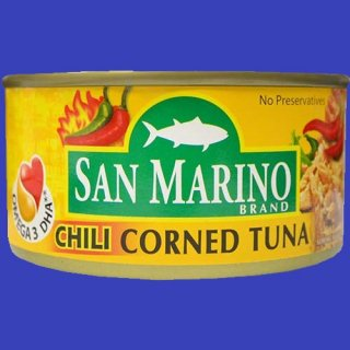 SAN MARINO CORNED TUNA CHILI 180g