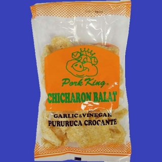 PORK KING CHICHARON GARLIC & VINEGAR 60g