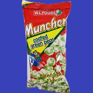 MUNCHER GREENPEAS (BEEF SPICY) 70g