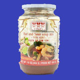 HOT AND SOUR SOUP MIX (TOM YUM)トムヤムペースト 3シェフ 24x454g CASE