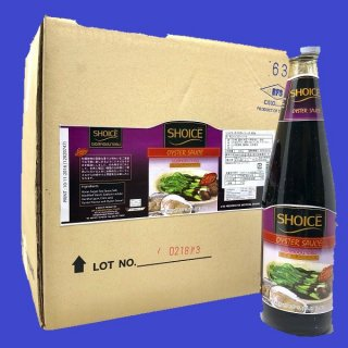 OYSTER SAUCE SHOICE L SIZE オイスターソース ショイス 830g×12本 CASE
