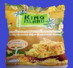 ROASTED COCONUT CHIPS CARAMEL ココナッツチップパック(KING ISLAND) キャラメル味 24x40g CASE