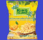 ROASTE COCONUT CHIPS MANGO SYRUP ココナッツチップ(KING ISLAND) マンゴー味 24x40g CASE