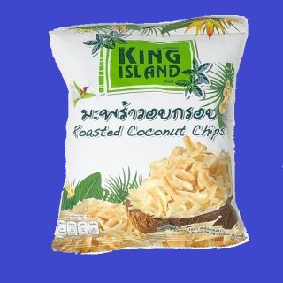 ROASTED COCONUT PACK ココナッツチップ パック(KING ISLAND)  24x40gCASE