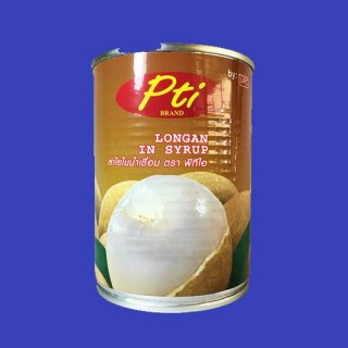 LONGAN WHOLE IN SYRUP PTI ロンガン シロップ漬け 24x565g CASE