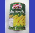 BAMBOO SHOOTS TIPS (LAMTHONG) 竹の子水煮 レムトン缶 24X565 CASE