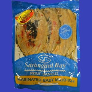 SARANGANI DAING BANGUS HOT 3pcs/pack