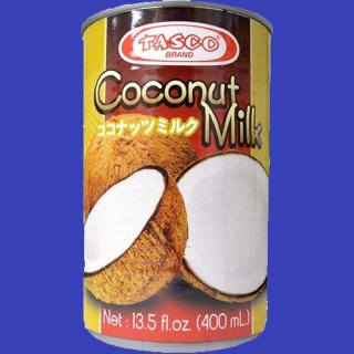 TASCO COCONUT MILK (GATA) 12X400ml CASE