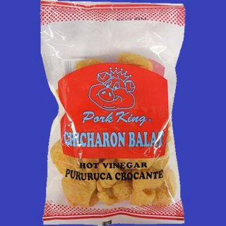 PORK KING CHICHARON GARLIC & VINEGAR 24X60g CASE