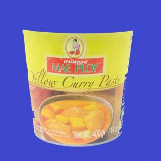YELLOW CURRY PASTE (CUP)(MAE PLOY)イエローカレーペースト メープロイ400g