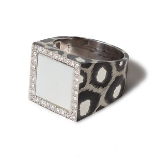 Mariangela ring SV925【White Mother of Pearl】