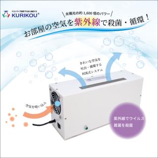 紫外線空気殺菌装置『ゆかりのそよかぜ』