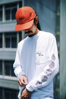 PIZZAMAFIALONGT-SHIRT【WHITE】