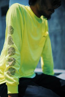 PIZZAMAFIALONGT-SHIRT【YELLOW】