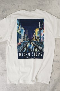 Microscope T-shirt 【white】