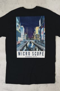 Microscope T-shirt 【black】