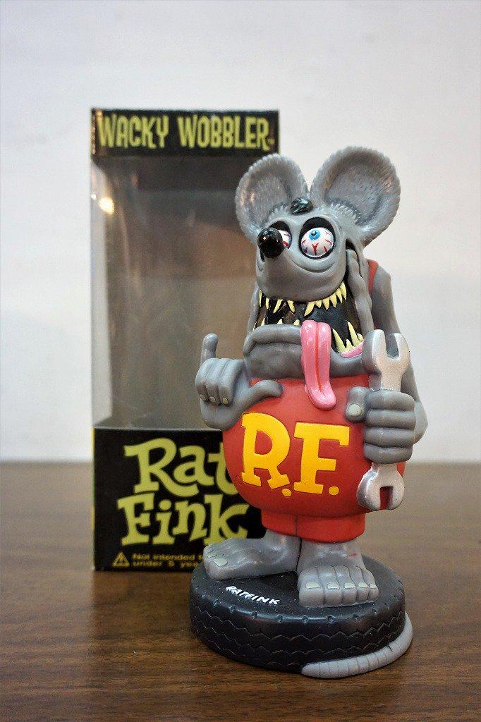 FUNKO社製 RAT FINK ボブルヘッド/フィギュア