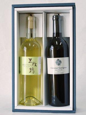 五枚橋ワイナリーギフトセット (五枚橋林檎ワイン・ふじ + カベルネソーヴィニヨン2017T)