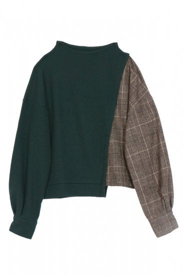 Alpaca Asimé slit knit