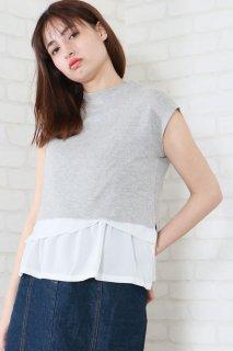 Short knit ensemble