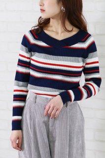 Multi-border knit
