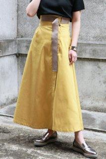 Tapebelt long skirt