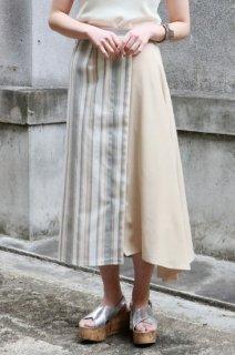 Stripe stitch skirt