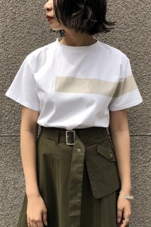 Line print T-shirt