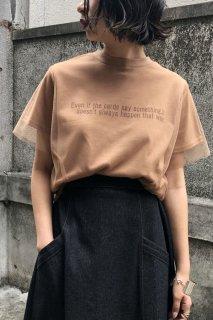 Tulle logo T-shirt