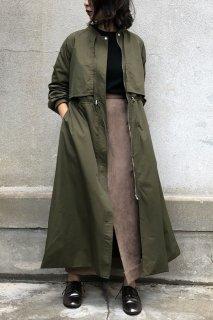 Long mod coat with cape