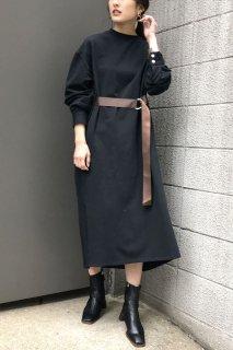 Front belt cut dress