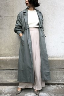 Side belt trench coat
