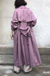 Loose silhouette long coat